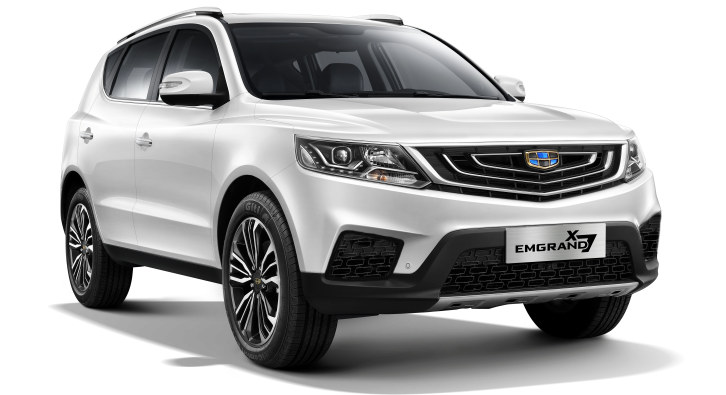 Geely Emgrand X7 White